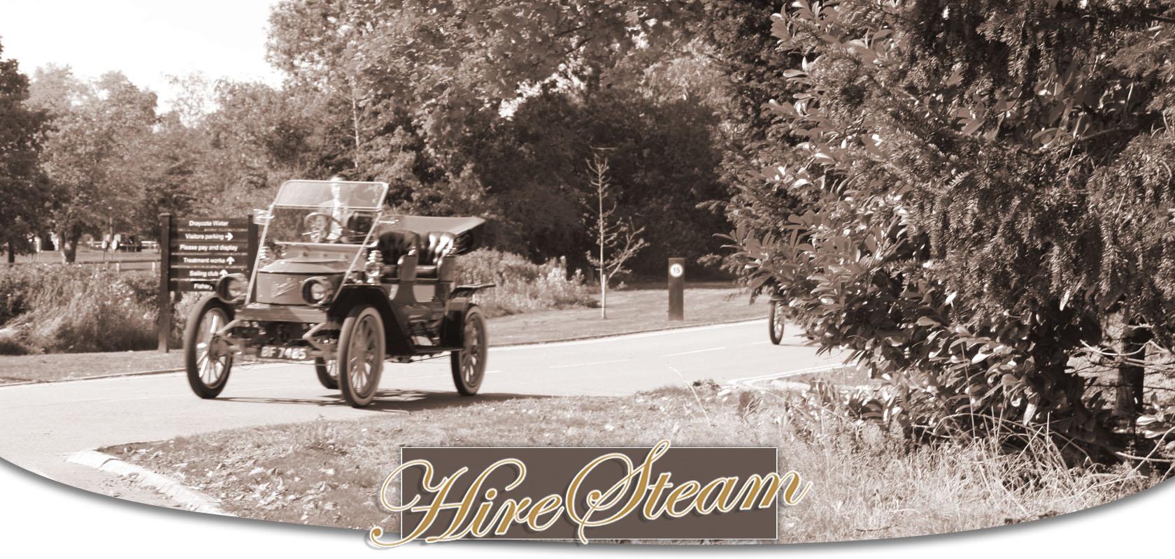Drive A Steam Car Experience